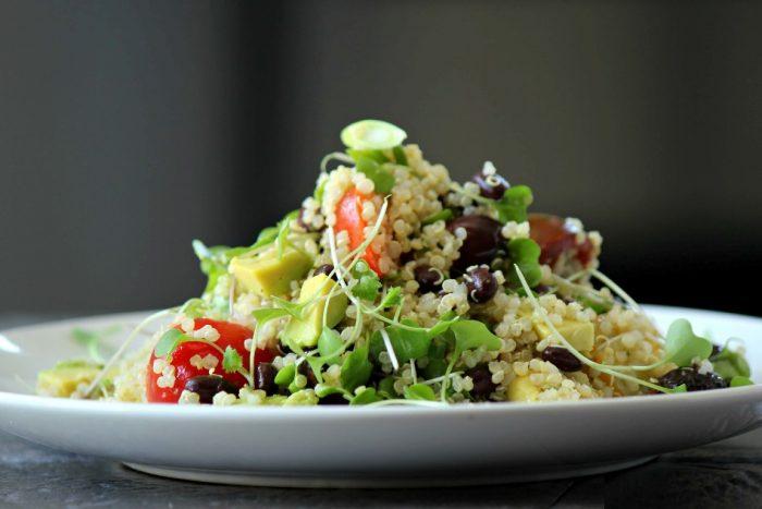 quinoa microgreens